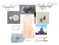 """Fantasyland Disneybound"" by misscoco108 on Polyvore featuring Mode, Pilot, Charlotte Russe, Karussell, Bling Jewelry und Bobbi Brown Cosmetics"