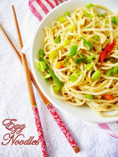 Cooking Is Easy: Egg Noodles (Chinese Style)