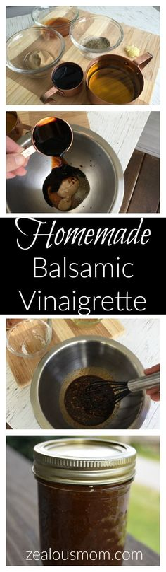 If you're looking for a simple and delicious balsamic vinaigrette dressing, this is the one. It's mouthwatering to eat and easy to make. What more could you want?