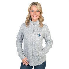 Dallas Cowboys Cary Full-Zip Sweater Jacket