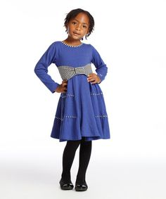 Another great find on #zulily! Sapphire Rita Dress - Toddler & Girls #zulilyfinds