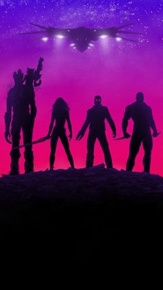 Guardians of the Galaxy, movie, neon lights, poster, 720x1280 wallpaper
