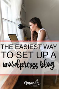 FREE TUTORIAL on how to set up a Wordpress blog for your business. Includes video and step-by-step instructions. http://www.amandaabella.com/bluehost-review-how-to-use-bluehost-to-set-up-a-wordpress-blog/