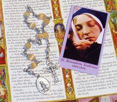 Unbreakable Chaplet of St. Bernadette Soubirous - Patron Saint Against Illness and Poverty