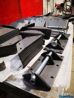 #steelparts #gazebox Modern Gazebo, Portable Garage, Knife Block, Steel, Portable Carport, Steel Grades, Iron
