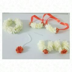 Amaara Collection artificial flower jewellery by @bridalflowerjewellery www.bridalflowerjewellery.com