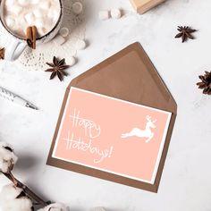 Happy Holidays Card - LifeinCream
