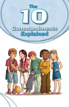 As children begin to question more about their faith, use The 10 Commandments Explained to help them understand the basic beliefs held by the Catholic Church. It offers them a deeper understanding of their faith and God.
