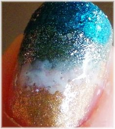 LAKKMATT: NOTD - Ocean Nails