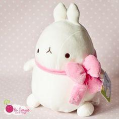 """Peluche Môlang """"Noeud Rose"""" #Molang #stationery #kawaii #plush #gift #girly"""