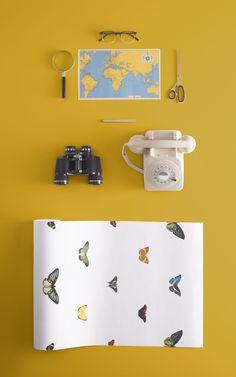 Bright Wallpaper, Normal Wallpaper, Standard Wallpaper, How To Hang Wallpaper, Chic Wallpaper, Botanical Wallpaper, Butterfly Wallpaper, Photo Wallpaper, Look Retro