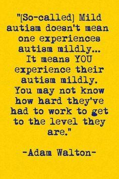 """""""Mild"""" Autism"""