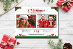 Christmas Mini Session V897 by Template Shop on @creativemarket