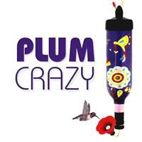 750mL single-shot Hummingbird Feeder in Plum Crazy Purple, available at tipsybirds.com