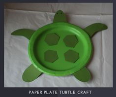Paper Plate Turtle Craft Instructions Rebecca Autry Creations