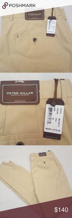 Peter Miller Mens Pants Khakis 38x36 Peter Miller  Mens Pants  Khakis Size 38x36 New with Tags Peter Millar Pants Chinos & Khakis
