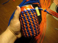 Paracord coozie instructions