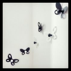 Hangclothes butterfly home decor