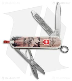 Victorinox Classic SD Swiss Army Knife Mountains Calling