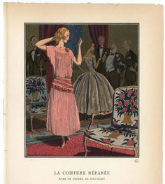 """Women 1921, Plate 021. Fashion plates, 1790-1929. Costume Institute Fashion Plates. The Metropolitan Museum of Art, New York. Gift of Sally Victor (b17509853) 