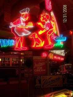 old neon signs | Vintage neon signs | Flickr - Photo Sharing!