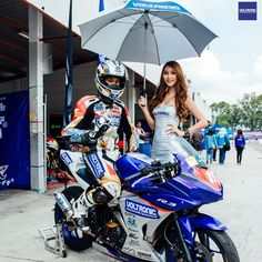 VOLTRONIC ZEUZ Racing Team debut at All Thailand Superbike Championship 2016 with Yamaha R3