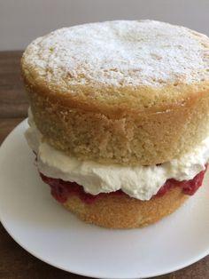 low-carb victoria sponge cake recipe