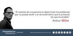 Arthur Miller. Sobre el carácter de las personas.