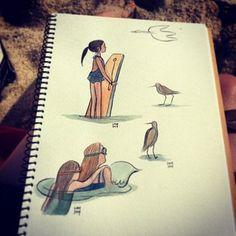 Lisa Brown | 18 Illustrators You Need To Follow On Instagram