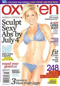 Jamie Eason on Oxygen Magazine!