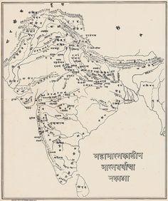 Ancient Indian History, History Of India, Ancient Map, Religion, The Mahabharata, India Map, India India, India Travel, Gernal Knowledge