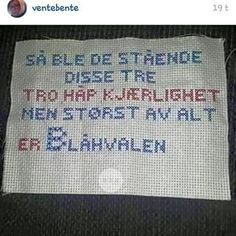 geriljabroderi mønster - Google-søk Guerrilla, Needle And Thread, Holidays And Events, Homemade Gifts, Art For Kids, Needlework, Diy And Crafts, Cross Stitch, Artsy