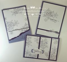 Marelle Taylor Stampin' Up! Demonstrator Sydney Australia: Endless Wishes Stamp-a-Stack Xmas Crafts, Paper Crafts, Endless Wishes, Holiday Cards, Christmas Cards, Snowflake Cards, Snowflakes, Stamp A Stack, Holiday 2014