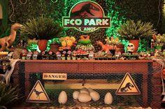 FESTA PRONTA: JURASSIC PARK DO FRANCISCO ~ DesinArtes