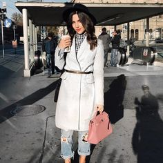 Grey coat My Outfit, Grey, Coat, Jackets, Outfits, Fashion, Gray, Down Jackets, Moda