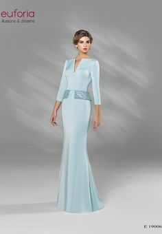 E 19006 - Architekt. Mother Of Bride Outfits, Mother Of Groom Dresses, Mothers Dresses, Mother Of The Bride, Long Mothers Dress, Robes Quinceanera, Evening Dresses, Formal Dresses, Going Out Outfits