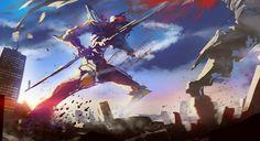 Anime Neon Genesis Evangelion  Ciudad Robot Fight Fondo de Pantalla