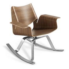 900 walnut walnut modern rocker modern modern rocking chairs rocking chair rocker buttercup rocker rockers office design amy modern office chair