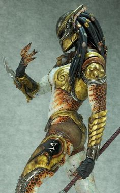 Female Predator   GHOST IN MY SHELL: Female Predator