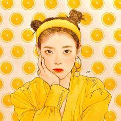 Kpop Drawings, Art Drawings, Pretty Art, Cute Art, Cat Anime, Korean Art, Fan Art, Kpop Fanart, Anime Art Girl