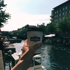 Christianshavns Kanal. And coffee.