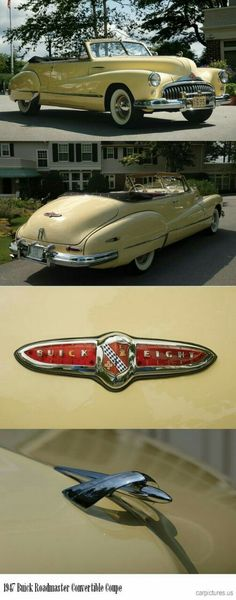 DO YOU LIKE VINTAGE? 47 Roadmaster convertible coupe