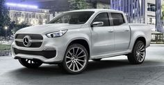 Mercedes Says X-Class Concept Is Almost Production-Ready #Mercedes #Mercedes_X_Class