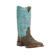 This stunning pair of Dan Post Ladies San Michelle Western Boots is sure to grab the attention of one and all! These cowboy boots are set in a full-grain leather foot and shaft. The sole features full-grain leather foot bed lining with moisture wicking vents. Made with EVA insoles and flat shank sta