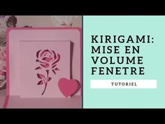 Tutoriel Kirigami rose: mise en volume , technique de la fenêtre - YouTube Origami, Cards, Pop, Crochet, Kirigami Tutorial, Hobbies, Crochet Hooks, Popular, Pop Music