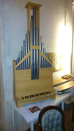 Organ after an intarsia in the St Lorenzo in Bologna Built for Liuwe Tamminga