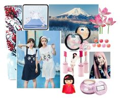 """""""Japanese Girls"""" by muskrosevintage ❤ liked on Polyvore featuring ArtWall, Fuji, Michael Kors, Kate Spade and Voluspa"""