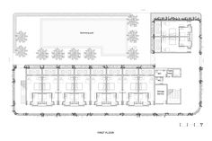 Image 24 of 28 from gallery of Naman Retreat the Babylon / VTN Architects. 1st Floor Plan