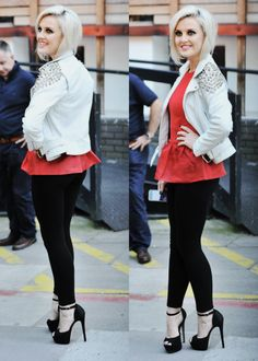 Perrie Edwards. Love her style and hair! I just love her!!