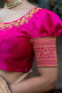 blouse designs back neck Bluse entwirft Hals Why we Need to Take Risks It does not matter if you are Best Blouse Designs, Bridal Blouse Designs, Blouse Back Neck Designs, Simple Blouse Designs, Sari Design, Pattu Saree Blouse Designs, Latest Saree Blouse Designs, Saree Blouse Patterns, Lehenga Blouse